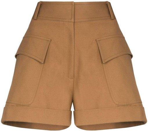 High-Waisted Pocket Shorts