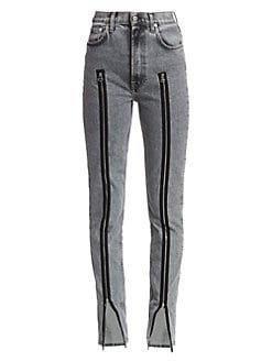 Helmut Lang zipper jean