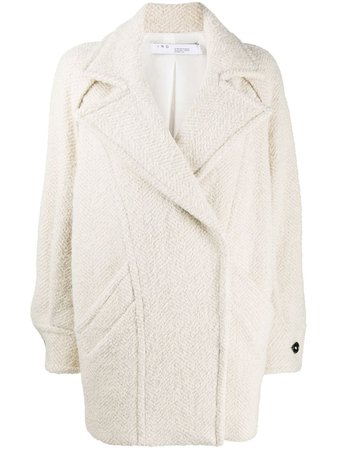 IRO Oversized Single Breasted Coat - Farfetch