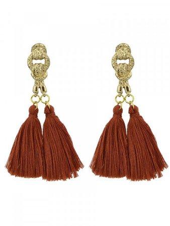 brown earrings - Google Search