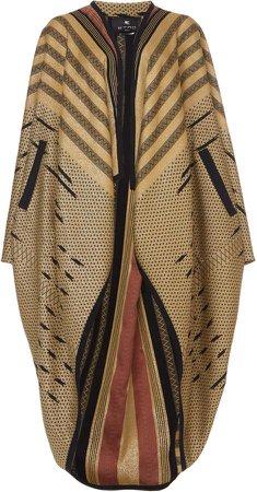 Etro Printed Cady Coat