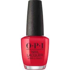 opi red nail polish - Google Search