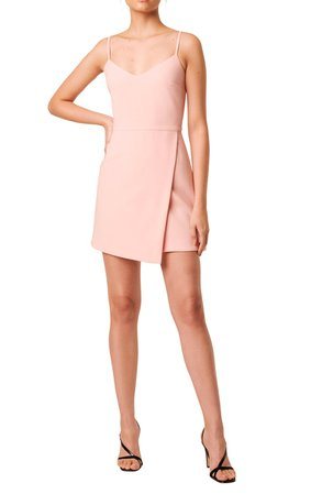 French Connection Whisper Faux Wrap Minidress | Nordstrom