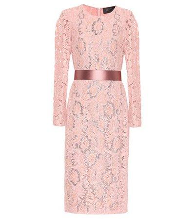 Gala floral lace dress