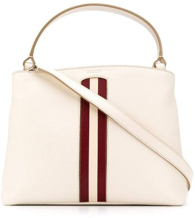 signature-stripe tote bag