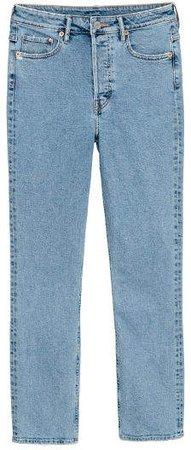 Slim Mom Jeans - Blue