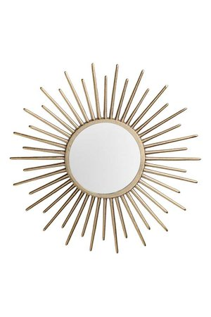 Round Mirror - Gold-colored - Home All | H&M CA