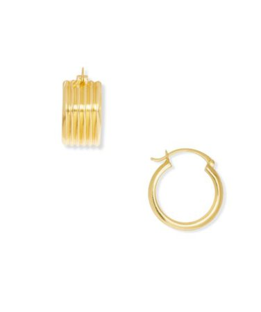 Sole Society Huggie Earrings | Sole Society Shoes, Bags and Accessories gold