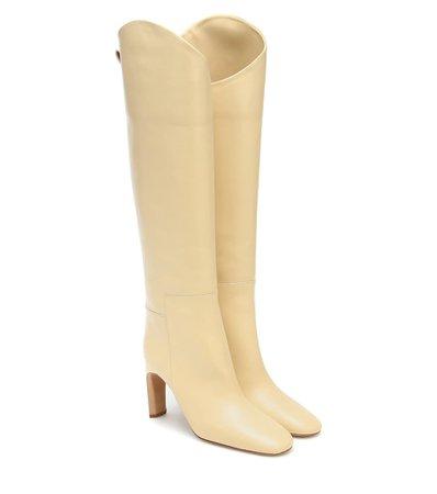 Knee-High Leather Boots | Jil Sander - Mytheresa