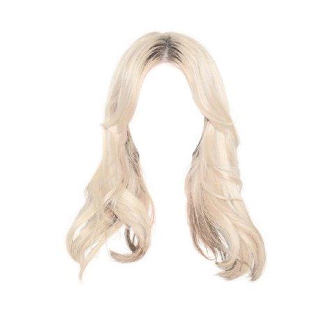 Blonde Hiar PNG