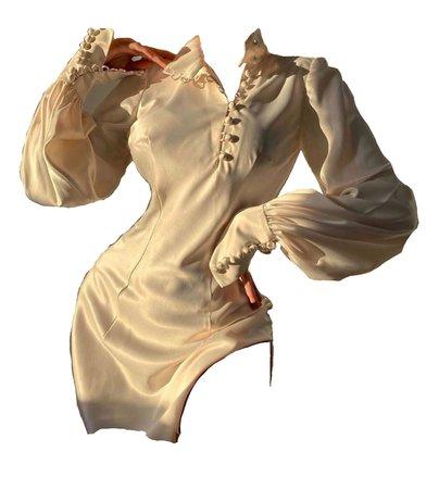 ONARIN   silky button up dress