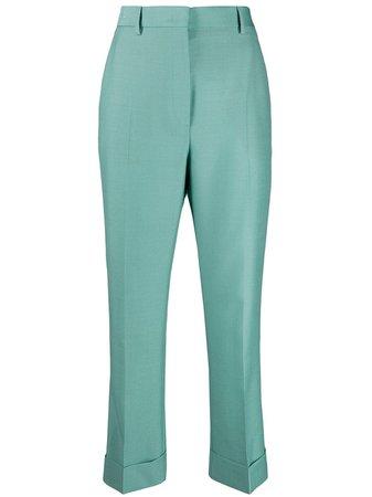 Fendi Cropped Tailored Trousers - Farfetch