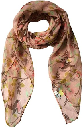 Lampu Scarfs for Women Lightweight Floral Birds Print Shawl Wraps Spring Scarf at Amazon Women's Clothing store