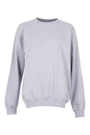 Basic Oversized Sweatshirt | Boohoo UK