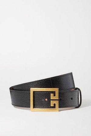 Givenchy   Textured-leather belt   NET-A-PORTER.COM