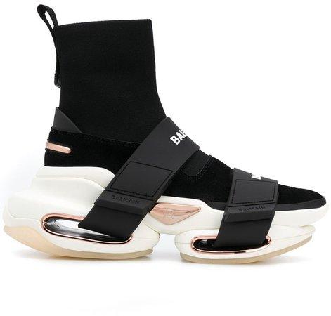 high-top BBold sneakers