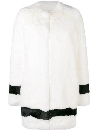 La Seine & Moi Petra Faux-Fur Coat Aw19 | Farfetch.com