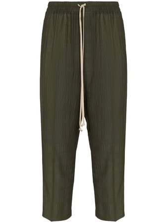 Rick Owens Astaire Crop Trousers - Farfetch