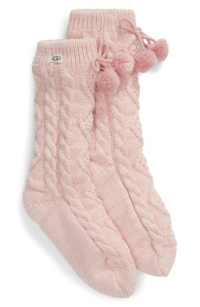 Pom Pom Fleece Lined Socks UGG®