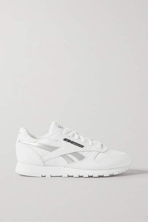 Classic Leather Sneakers - White