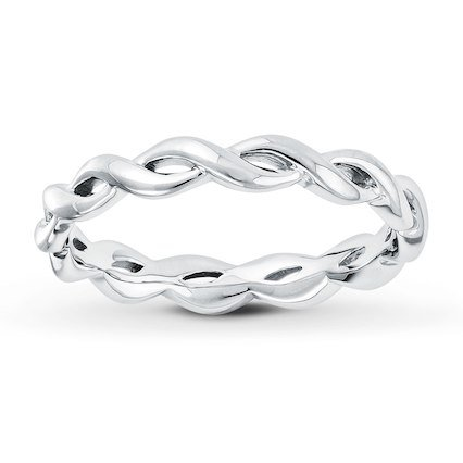 Stackable Ring Sterling Silver - 50561950899 - Kay