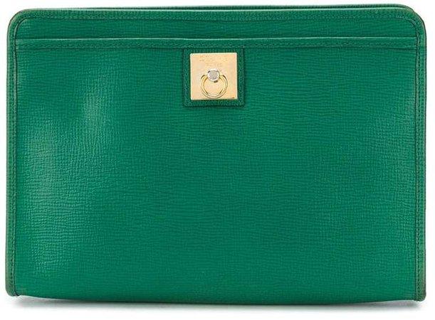 Céline Pre Owned Ring clutch bag