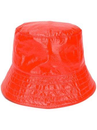 Manokhi Leather Bucket Hat - Farfetch