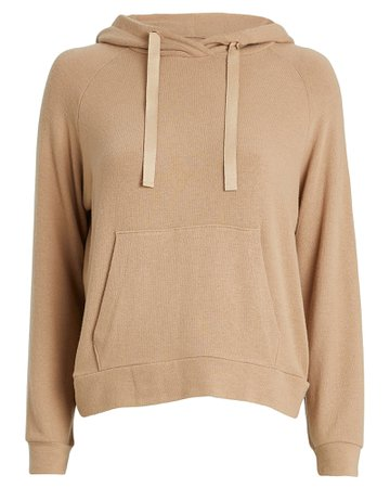 Enza Costa | Peached Jersey Easy Hoodie | INTERMIX®