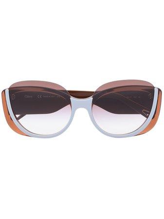 Chloé Eyewear Cayla butterfly-frame Sunglasses - Farfetch