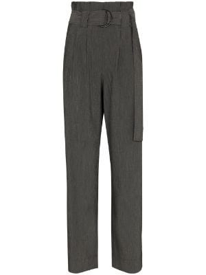 high-waist sequin trousers Farfetch