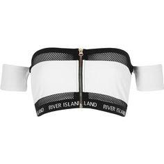 black white top