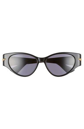 Bottega Veneta 55mm Cat Eye Sunglasses | Nordstrom