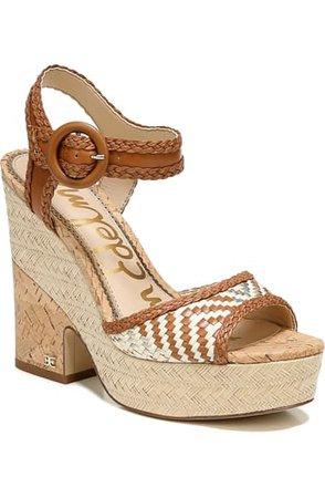 Sam Edelman Lillie Platform Sandal (Women) | Nordstrom