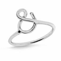 """&"" Symbol Ring in Sterling Silver"