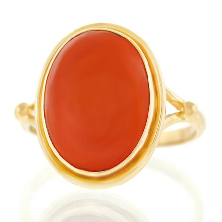 Gold and Orange Ring