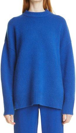 Oversize Crewneck Cashmere Sweater