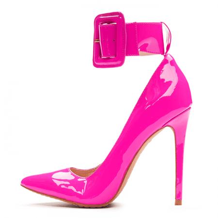 hot pink high heel