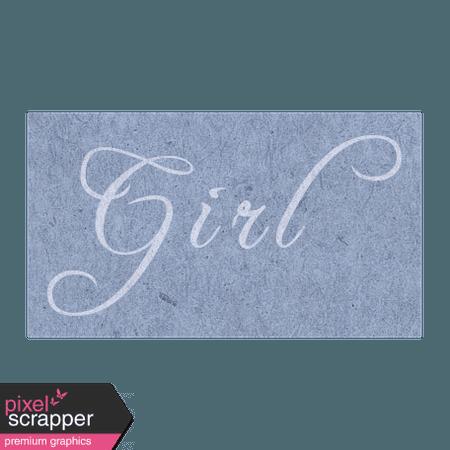 Spring Day - Girl Word Art graphic by Janet Scott | Pixel Scrapper Digital Scrapbooking