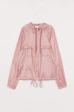 Nylon Windbreaker - Pink