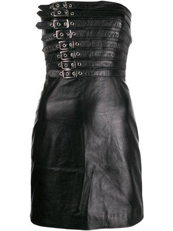 Manokhi Buckle Detail Dress - Farfetch