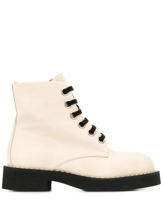 Marni Lace-Up Ankle Boots | Farfetch.com