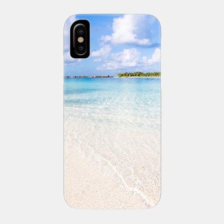 Tropical Beach - Tropical Beach - Phone Case | TeePublic