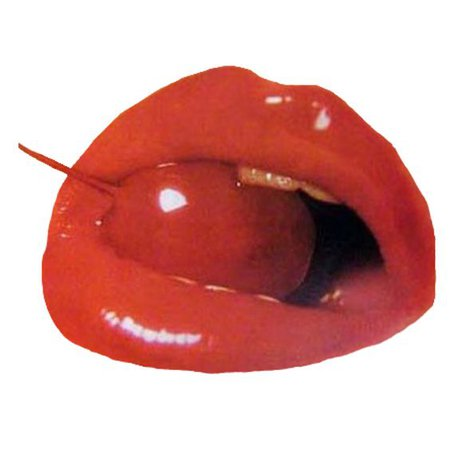 red png lips filler