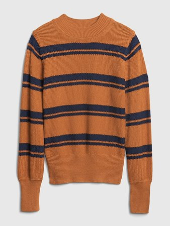 Cropped Mockneck Sweater | Gap