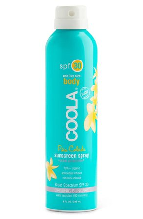 COOLA® Suncare Sport Sunscreen Spray Broad Spectrum SPF 30 | Nordstrom