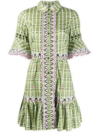 Temperley London Poet Embroidered Shirt Dress - Farfetch