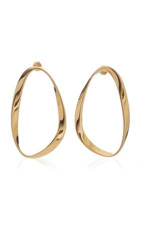 Isabel Gold-Vermeil Earrings by Agmes | Moda Operandi