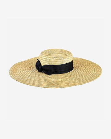 San Diego Hat Company Wheat Straw Wide Brim Boater Hat