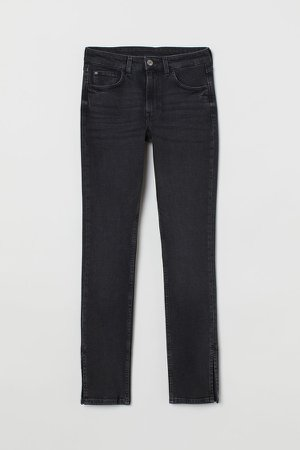 Skinny High Jeans - Black