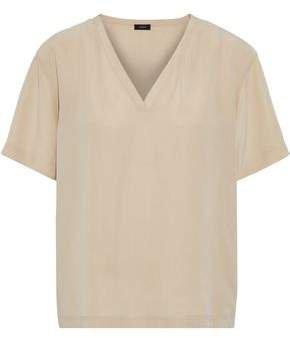 North Washed-silk T-shirt